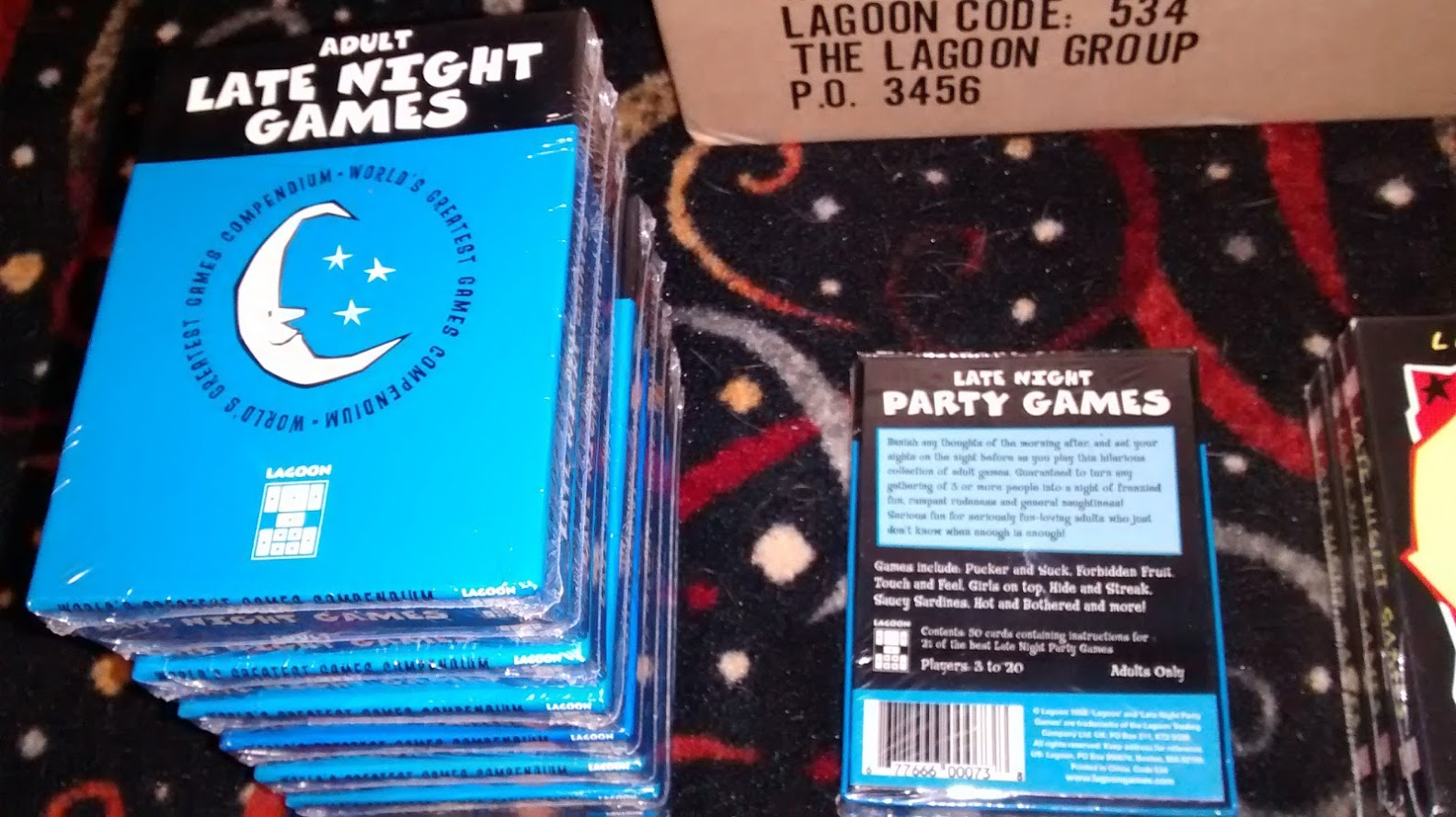 Adult Late Night Games WHOLESALE CASE LOT $2440 value