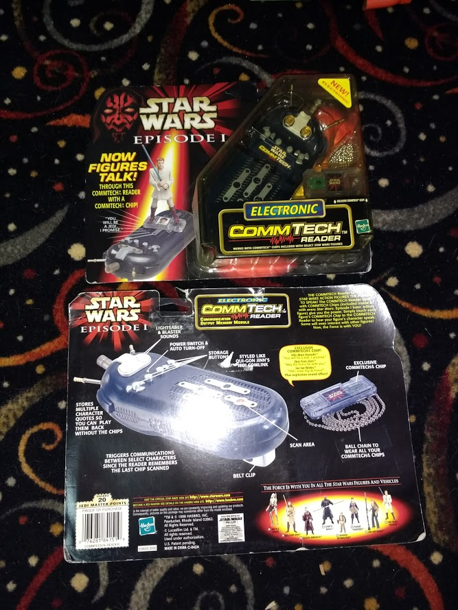Stars Wars Commtech Reader from 1998 - NOS - Lot of 2