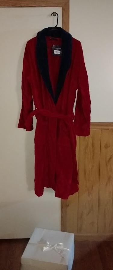 Polo Robe96 Lauren Kimono Ralph Men's Velour Retail New hxtdQsBrC